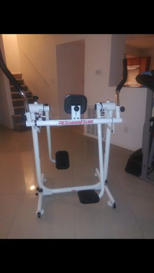 Fitness Flyer Exercise Machine the best workout for toning butt, legs, thighs and upper body for Sale in Glendale, AZ