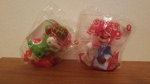"""NINTENDO McDonald's Toys """"Super Mario Collectibles - Mario & Yoshi Duo"""" for Sale in Fresno, CA"""