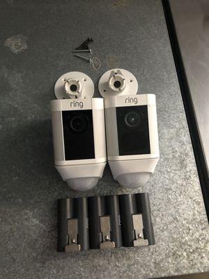 Ring wireless cameras for Sale in Modesto, CA