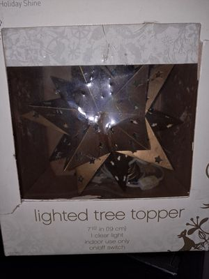 Free tree topper for Sale in Sunnyvale, CA