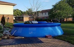 """Intex 13'x33"""" easy set for Sale in Darien, IL"""