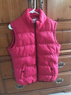 Beautiful Pink Puffer Vest for Sale in Kearneysville, WV
