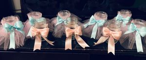 Tutu bow jars / party decorations/ customizable for Sale in Adelphi, MD
