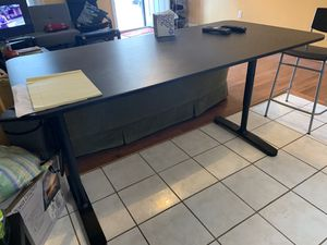 Large Table and 4 (bar) chairs from Ikea for Sale in Baltimore, MD