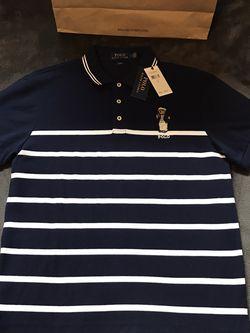 Ralph Lauren 🇺🇸 Polo 🐎 Bear 🐻 Collar Shirt Sz L for Sale in Dallas,  TX