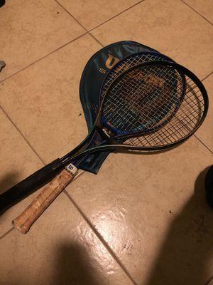 Wilson tennis rackets for Sale in Dallas, TX