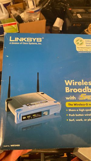 Linksys Wireless Router for Sale in Troy, MI