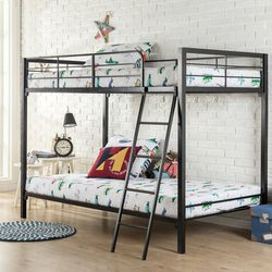 *Brand New* Zinus Patti Twin-over-Twin Bunk Bed for Sale in Dublin,  OH