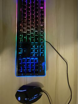 Gaming keyboard and mouse for Sale in Portland,  OR