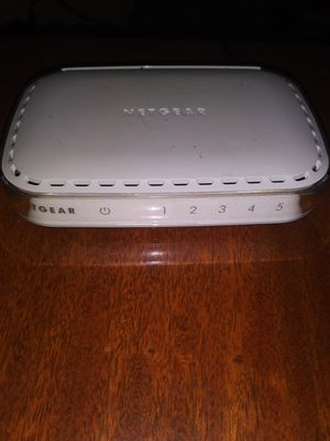 Netgear Media Switch 10/100 for Sale in Raleigh, NC