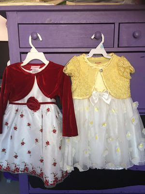 Toddler Girls Dresses (Size 3T). for Sale in Garden Grove, CA