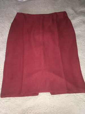 Red Pencil Skirt size Large for Sale in Ashburn, VA