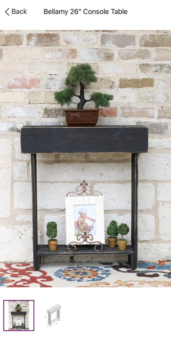Skinny console table
