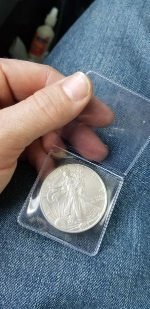 Walking liberty 1oz fine silver for Sale in Lewisville, TX