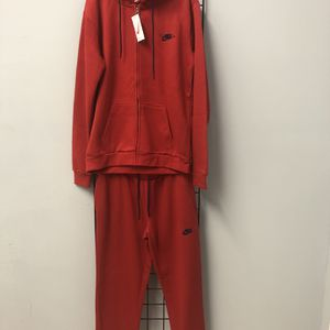 Nike Joggers Hoody Trak Set Red Size XL for Sale in Oak Park, IL