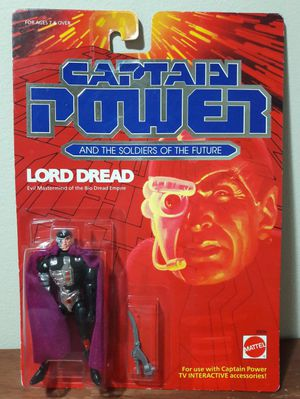 Captain Power Lord Dread Vintage Action Figure 80s mattel toy for Sale in Marietta, GA