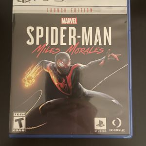Marvel Spider-Man Miles Morales PS5 for Sale in Lakeside, CA