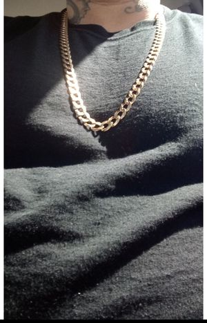 LIKE NEW 10k SOLID GOLD CUBAN LINK 51 GRAMS (100%REAL) for Sale in Arvada, CO