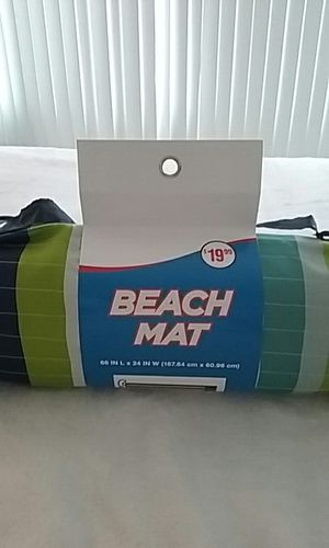 New beach mat/yoga mat for Sale in Detroit, MI