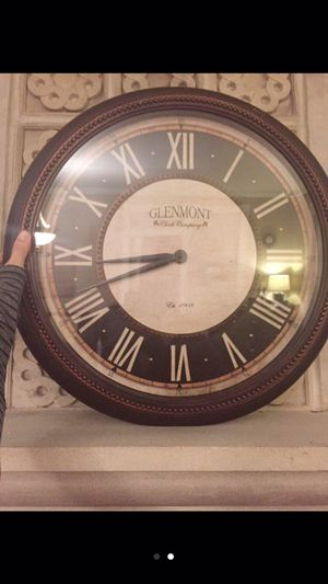 Glenmont Wall Clock for Sale in Chicago, IL