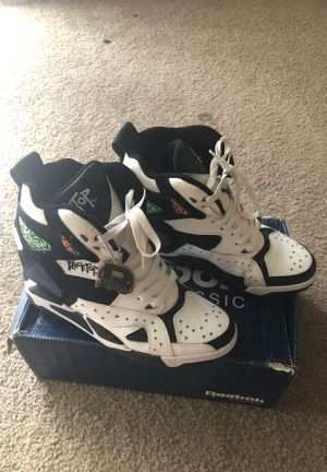 Reebok classic Black top wedges or best offer for Sale in Baltimore, MD