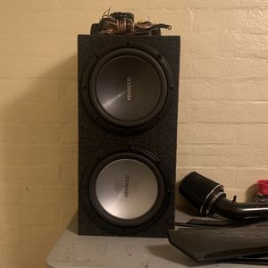 Keenwood Subs & Amplifier for Sale in Phoenix, AZ