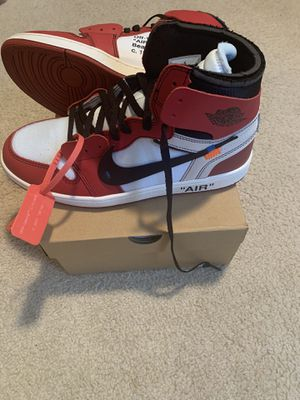Off-White Chicago Air Jordan 1 for Sale in Blythewood, SC