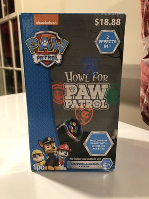 Halloween light show paw patrol for Sale in Germantown, MD
