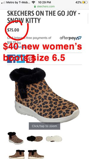New women's Skechers boots size 6.5 for Sale in Banning, CA