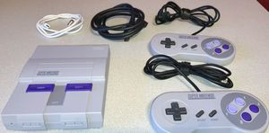 Super Nintendo SNES Classic Mini Console modded with 220 games for Sale in Tamarac, FL