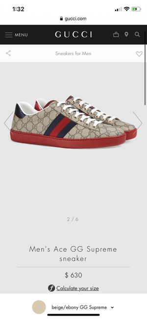 Gucci Sneakers $550 for Sale in Glendale, CA
