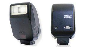 Canon Speedlite 200E Hot Shoe Flash-TTL-20m-Black for Sale in Arlington, TX