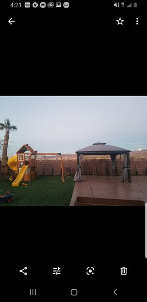 Gazebo without tent 10x12 for Sale in Las Vegas, NV