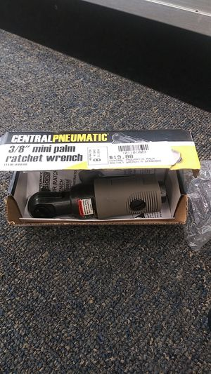 New central pneumatic 3/8 mini ratchet wrench for Sale in Glen Raven, NC