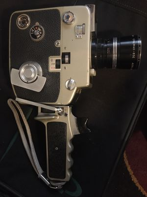 ARGUS CINEMAX 85E 8mm MOVIE CAMERA, TESTED, WORKS GREATS for Sale in Taylors, SC