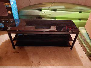 Glass TV Stand for Sale in Spokane, WA