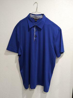 Michael Kors Blue Short Sleeve Polo Shirt for Sale in Santa Ana, CA