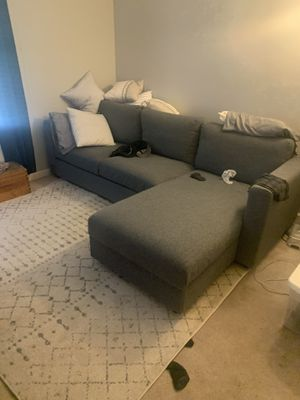 Sectional couch with storage for Sale in Greenville, SC