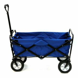 Folding Wagon Multipurpose Blue for Sale in Vernon, CA