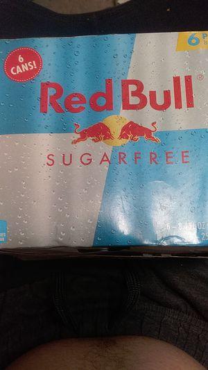 Red bulls 6 packs for Sale in Salt Lake City, UT