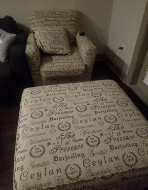Chair and Ottoman for Sale in Atlanta, GA