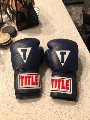 Title Boxing Gloves - 14 oz for Sale in La Mesa, CA