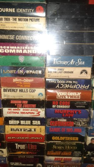 200ish VHS TAPES for Sale in Evansville, IN