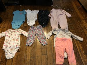 6 months baby girl clothes for Sale in Saginaw, MI