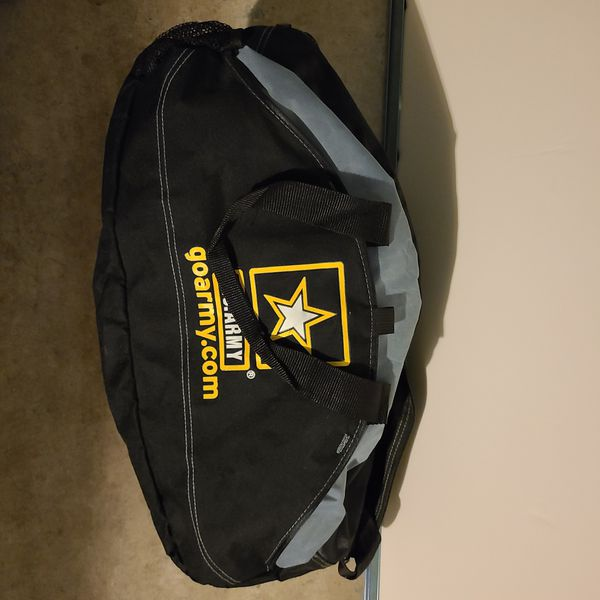 Army duffle bag