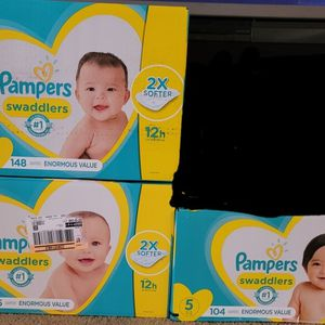 Pampers Size 1 Through 5 for Sale in Glendora, CA