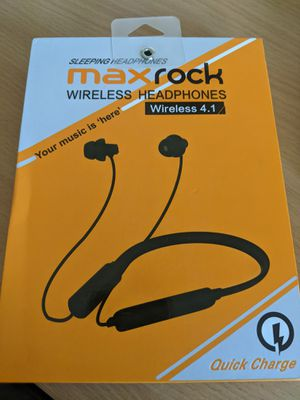 Maxrock Wireless Bluetooth headphones New for Sale in Merced, CA