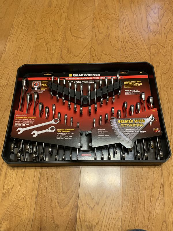 GearWrench 32 Pcs ratcheting combination set