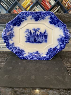 Antique Flow Blue Trinket Dish for Sale in Pittsburgh, PA