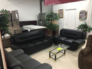 $399 BRAND NEW SOFA LOVE COFEE 2 ENDTABLES AND LAMPS for Sale in Hyattsville, MD